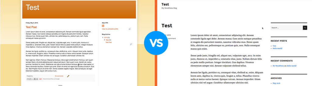 blogger-vs-wordpress-screenshot